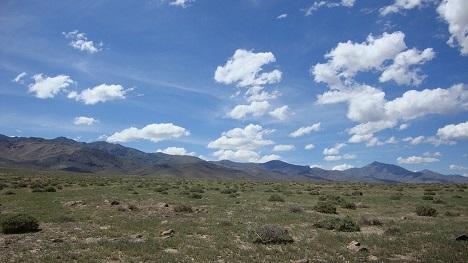 Nevada mountain land